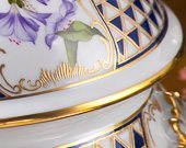 Mosaic and Flower MTFC pattern - Herend fine china hand painted.