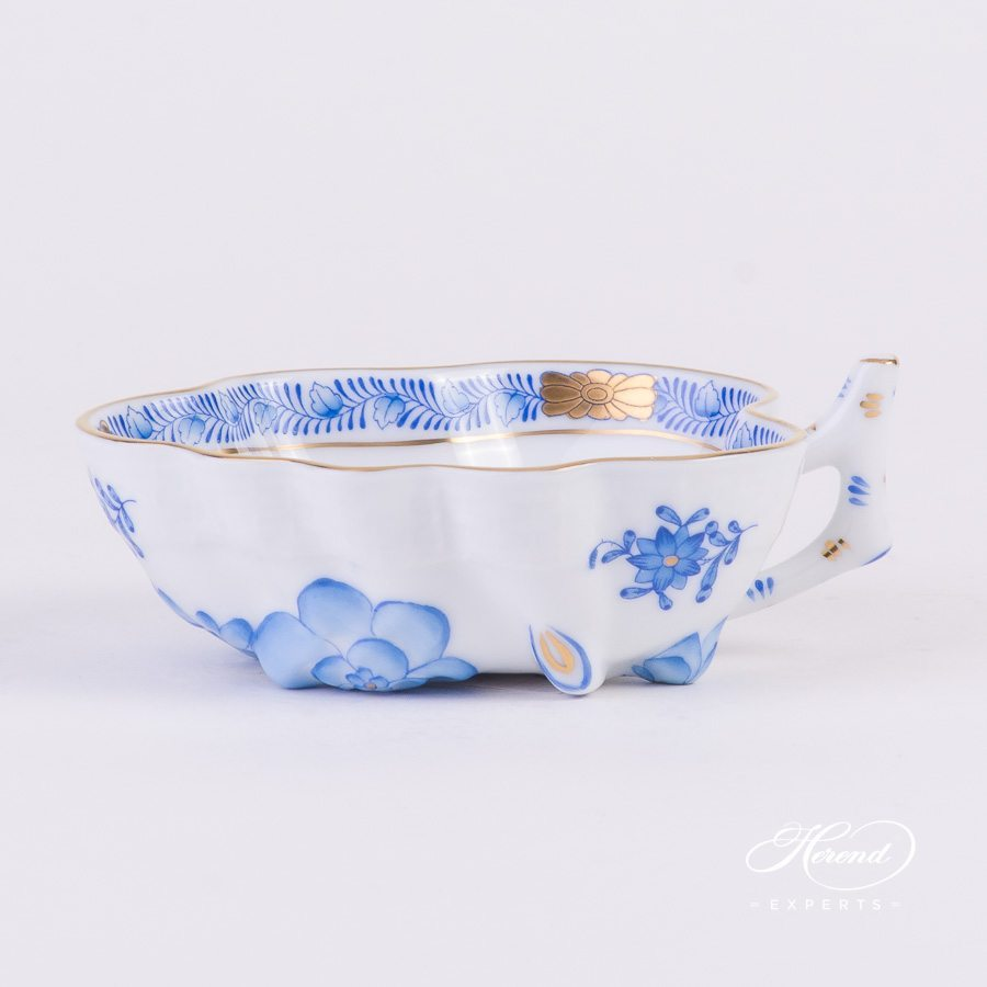 Sugar Bowl 492-0-00 AB Apponyi Blue - Chinese Bouquet pattern - Herend porcelain hand painted.