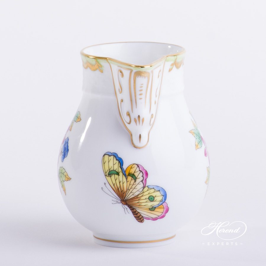 Milk Jug Queen Victoria VBO pattern - Herend porcelain hand painted.