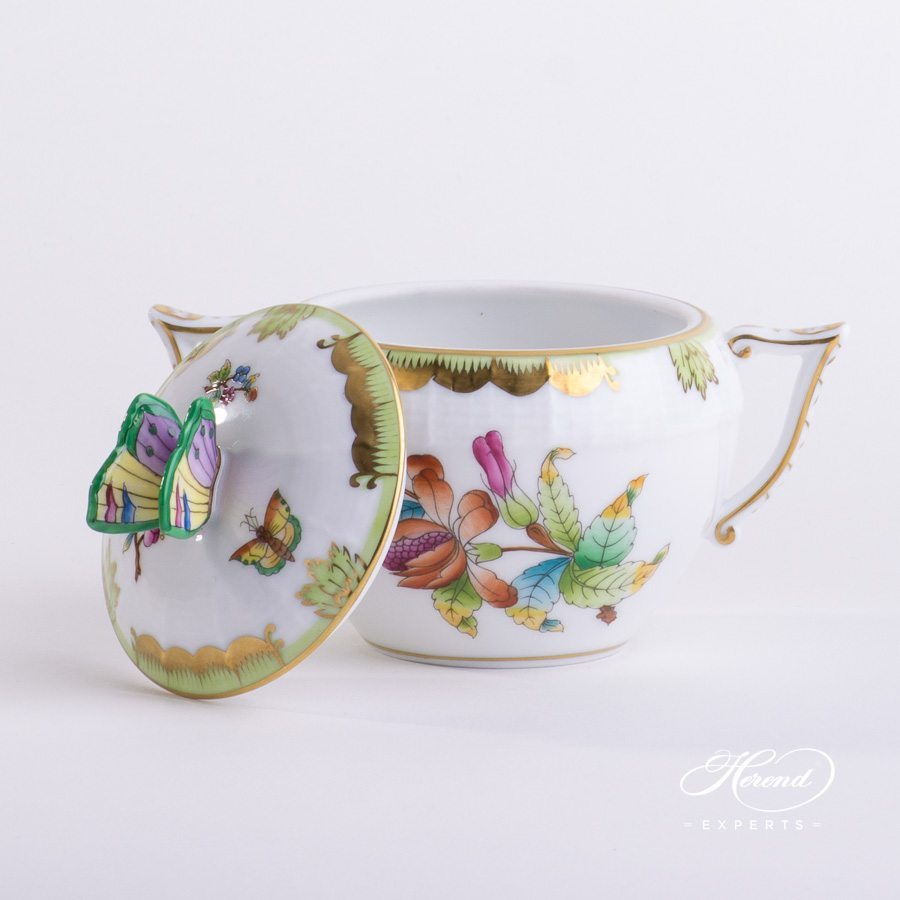 Sugar Basin Queen Victoria VBO pattern - Herend porcelain hand painted.