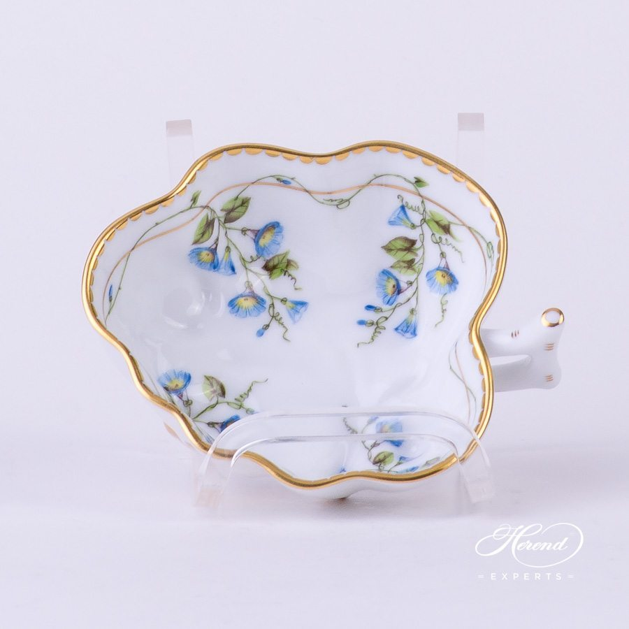 Sugar Bowl 2492-0-00 NY Nyon / Morning Glory Flower pattern. Herend fine china. Hand painted Classic style