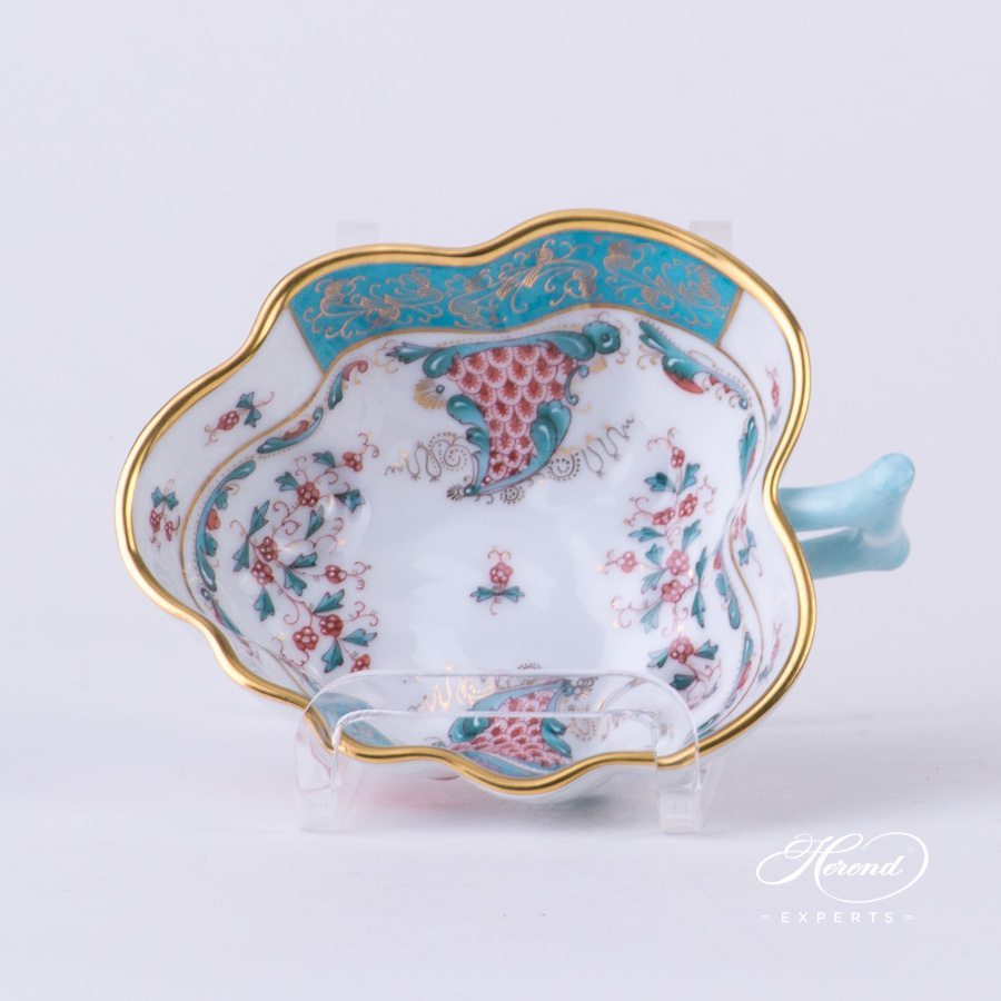 Sugar Bowl 492-0-00 TCA Tupini pattern - Herend porcelain hand painted.