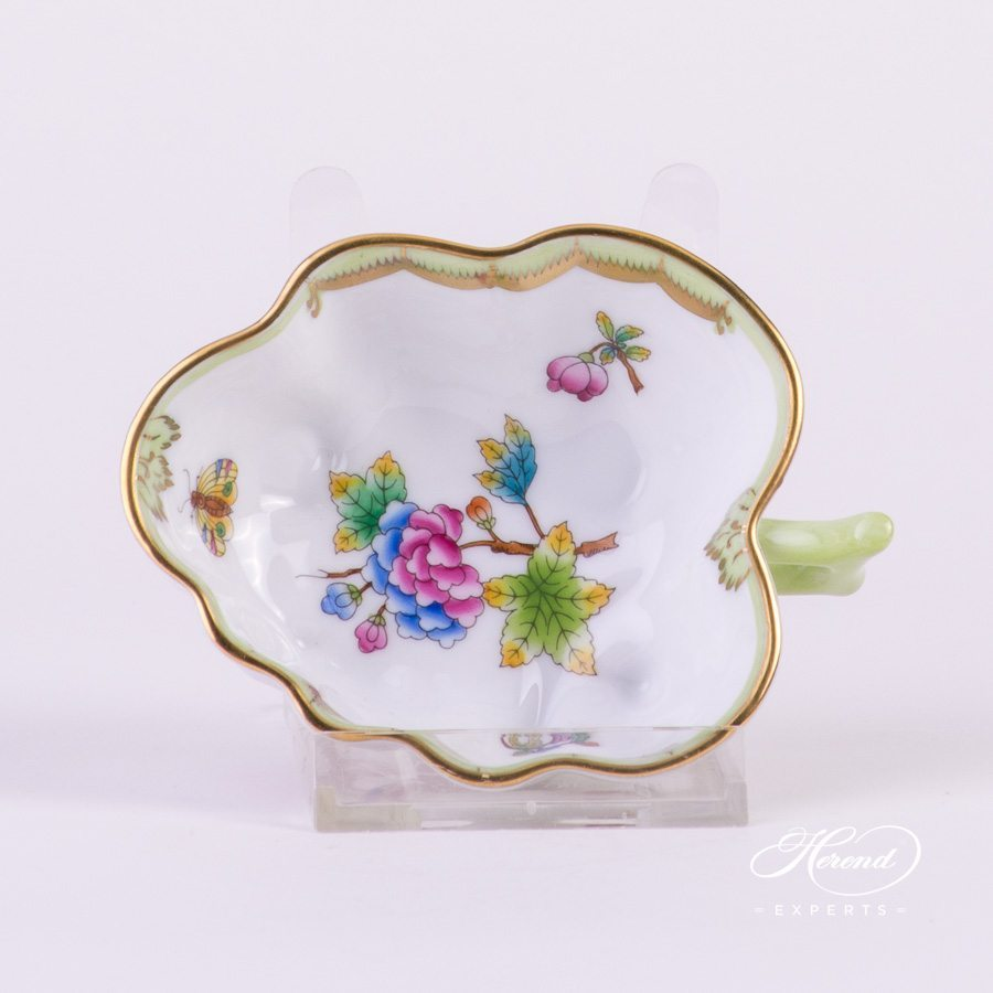 Sugar Bowl Queen Victoria VBO pattern - Herend porcelain hand painted.