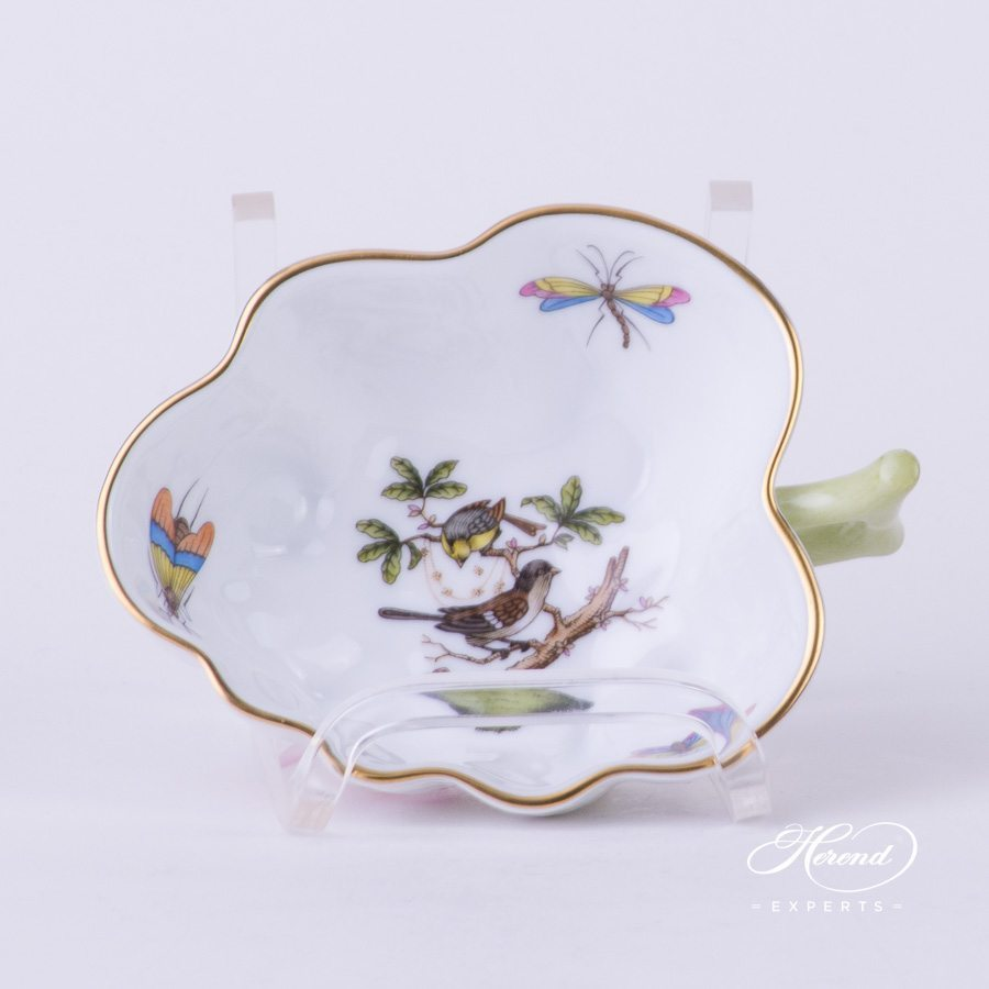 Sugar Bowl 492-0-00 RO Rothschild Bird pattern. Herend fine china tableware. Hand painted