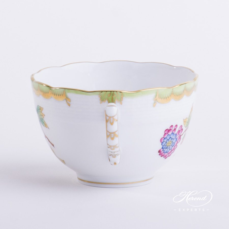 Tea Cup Queen Victoria VBO pattern - Herend porcelain hand painted.
