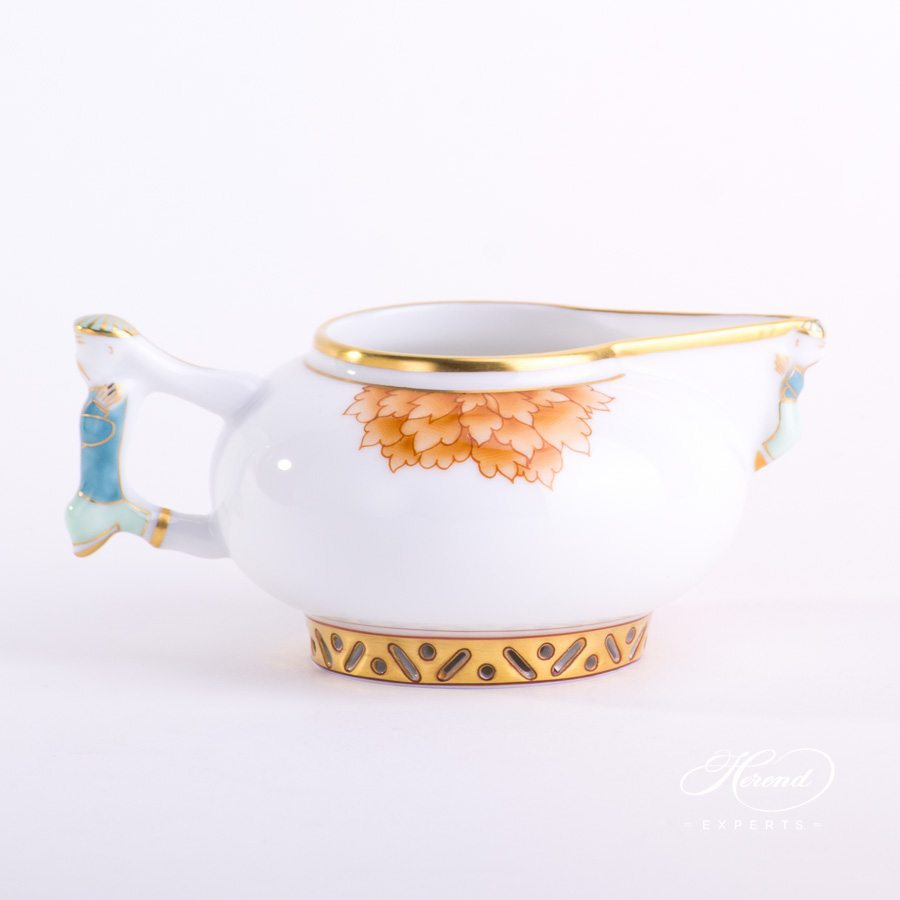 Creamer Pink Peony - PVR pattern - Herend porcelain hand painted.