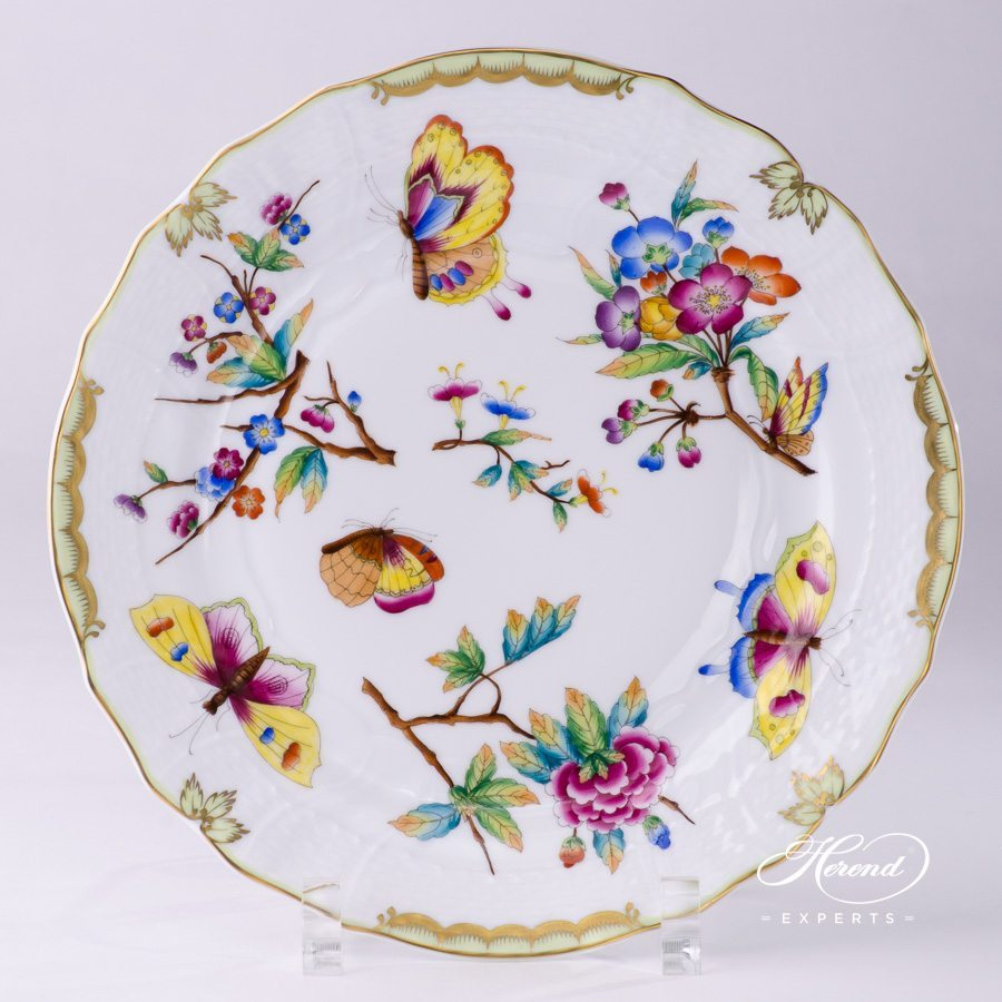 Dessert Plate 1518-0-00 VICTORIA - Herend Old Queen VICTORIA design. Herend fine china