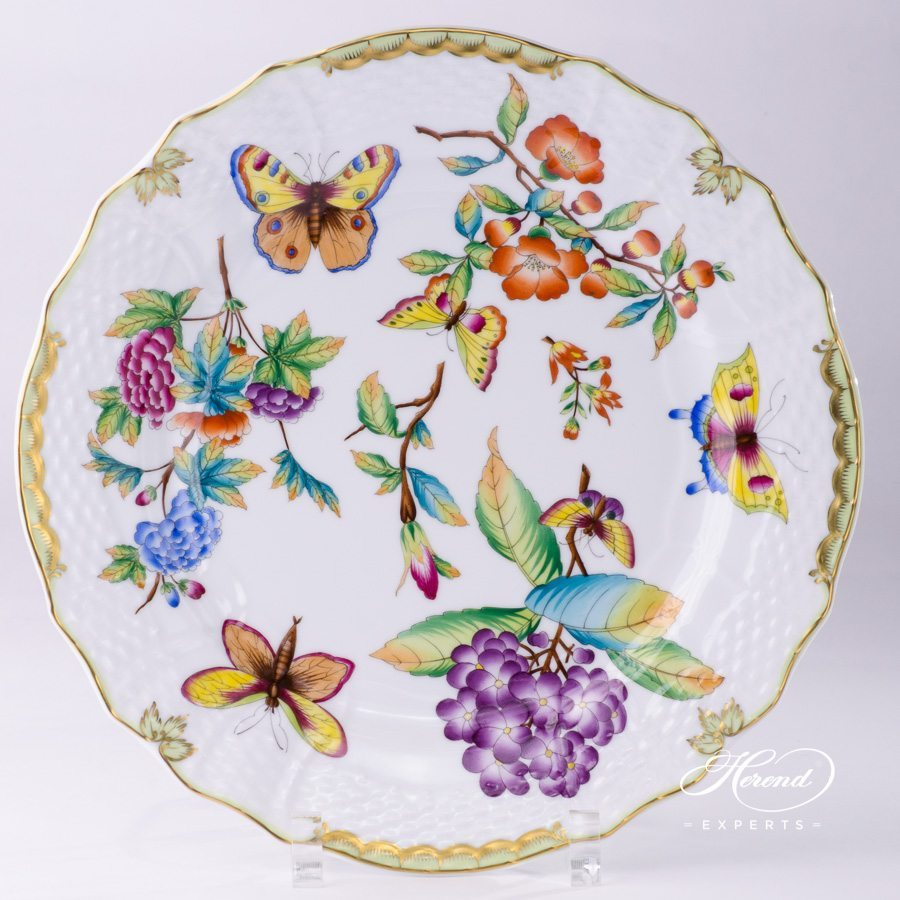 Serving Plate - Old Queen VICTORIA | Herend Experts