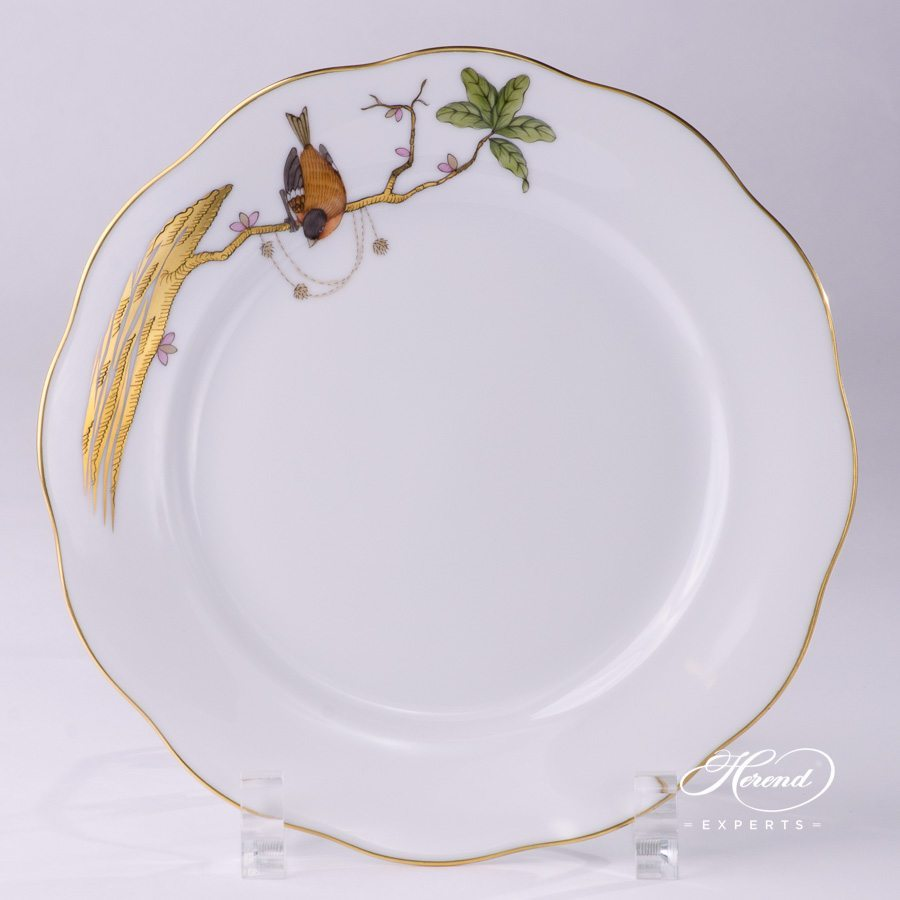 Dessert Plate 20517-0-00 REJA Dream Garden pattern - Herend porcelain hand painted.