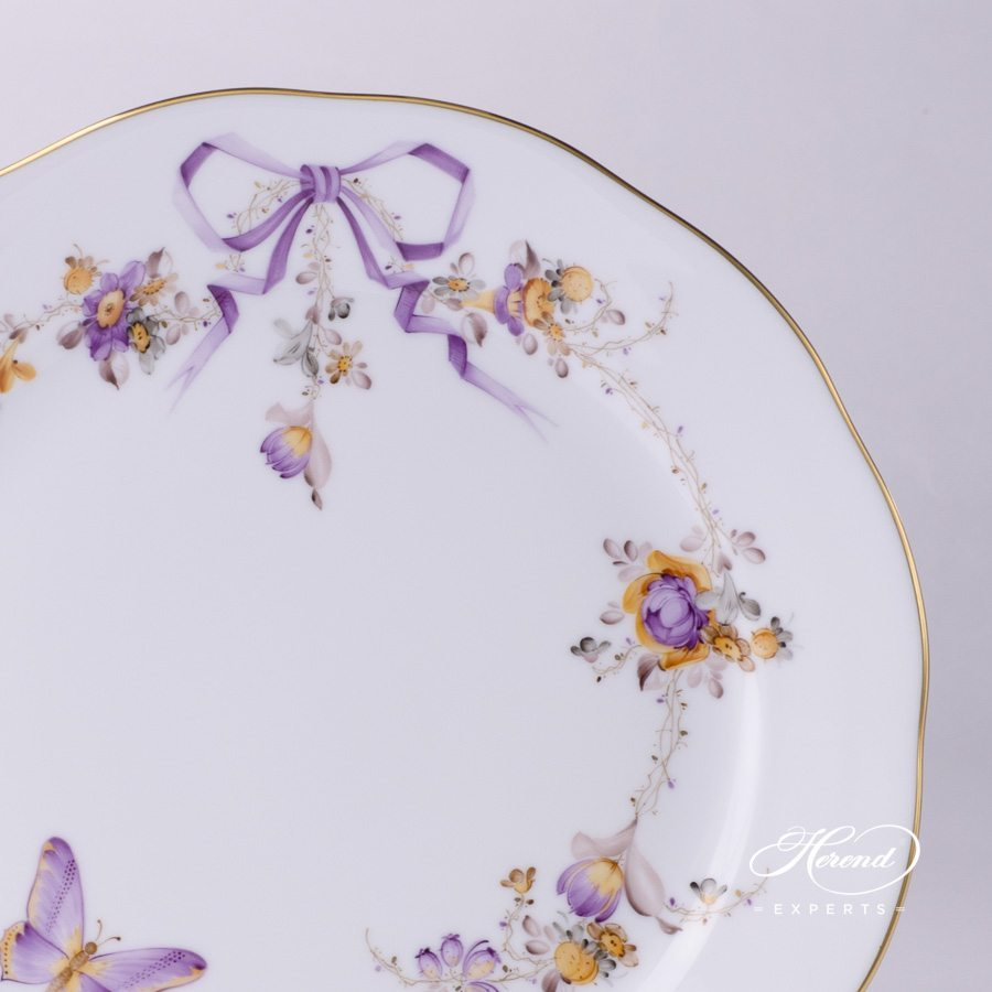 Dinner Plate 20524-0-00 EDEN pattern - Herend fine china hand painted.