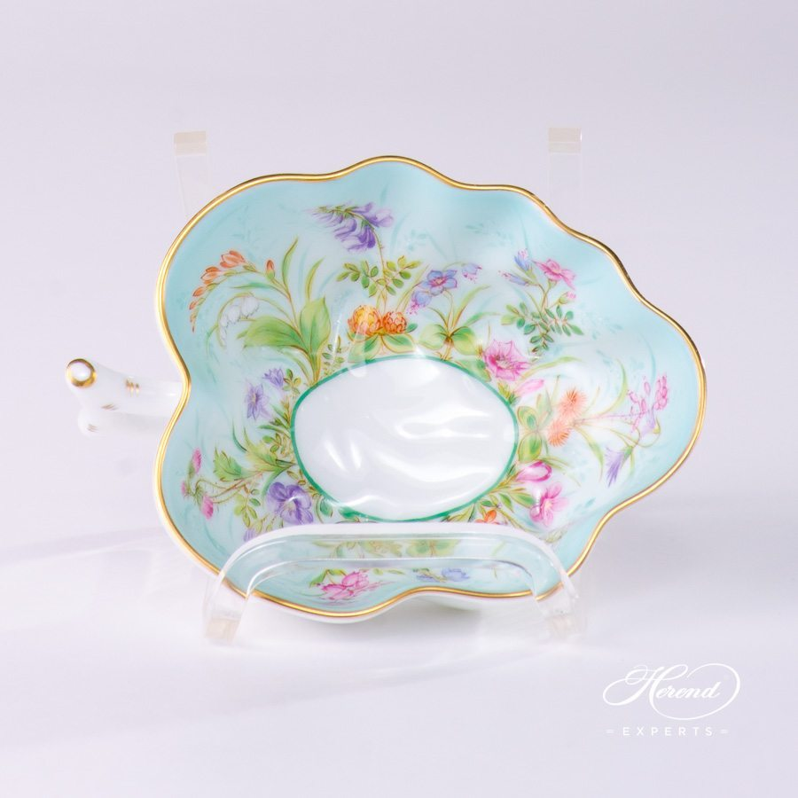 Sugar Bowl 2492-0-00 QS Four Seasons pattern. Herend porcelain hand painted