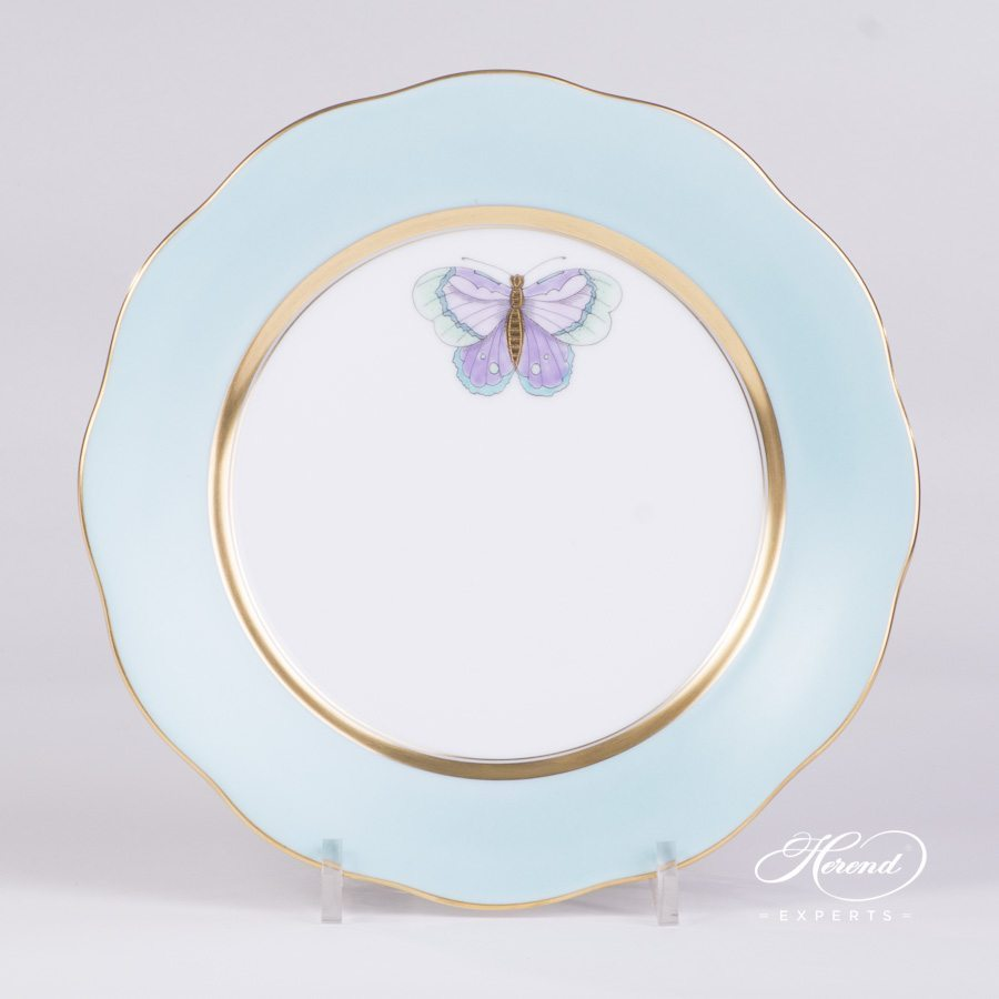 Dessert Plate 20517-0-00 X-CTQ1 Royal Garden Special pattern. Herend porcelain hand painted