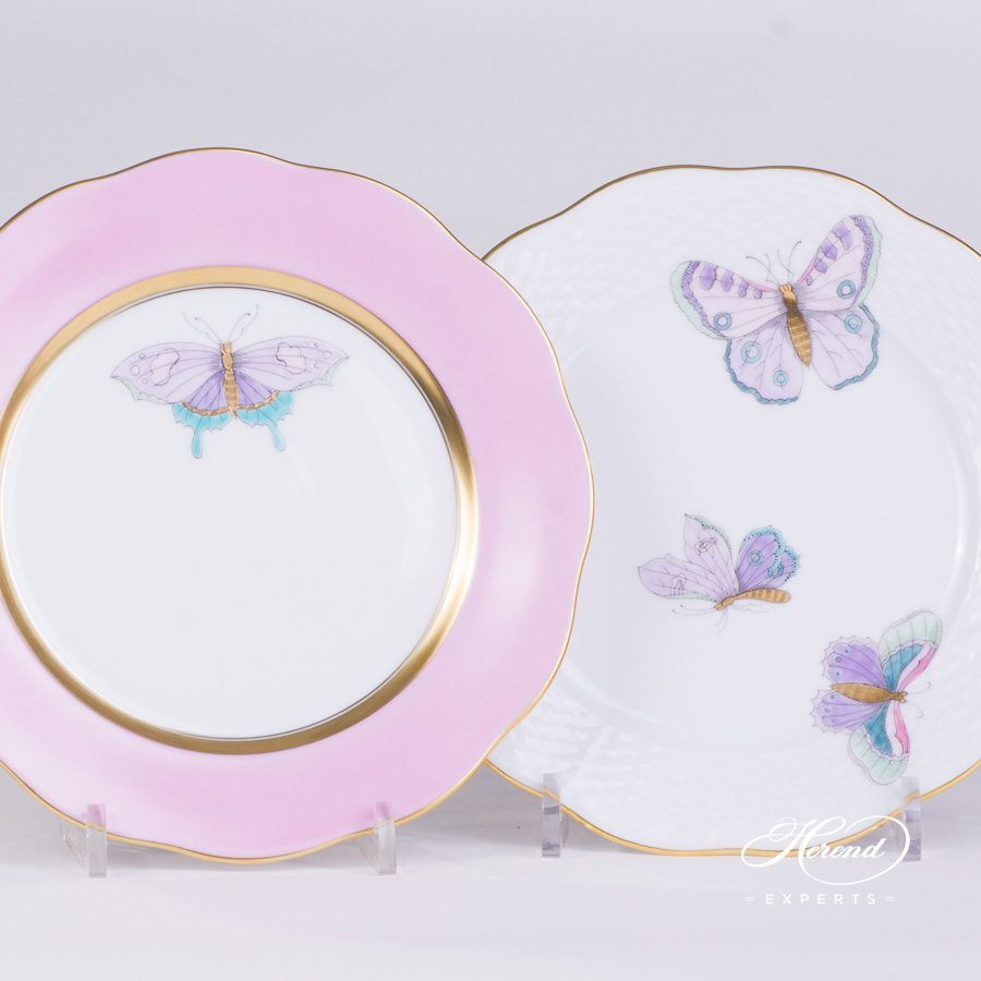 Dessert Plate 20517-0-00 X-CP6 Royal Garden Special pattern. Herend porcelain hand painted