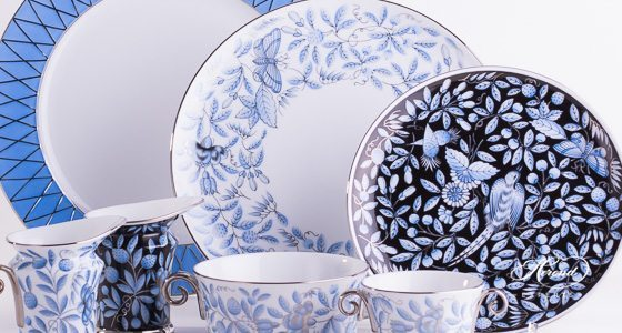 ZOBA-PT, ZOBAS-PT and ZOBA-FN-PT patterns - Herend fine china hand painted.