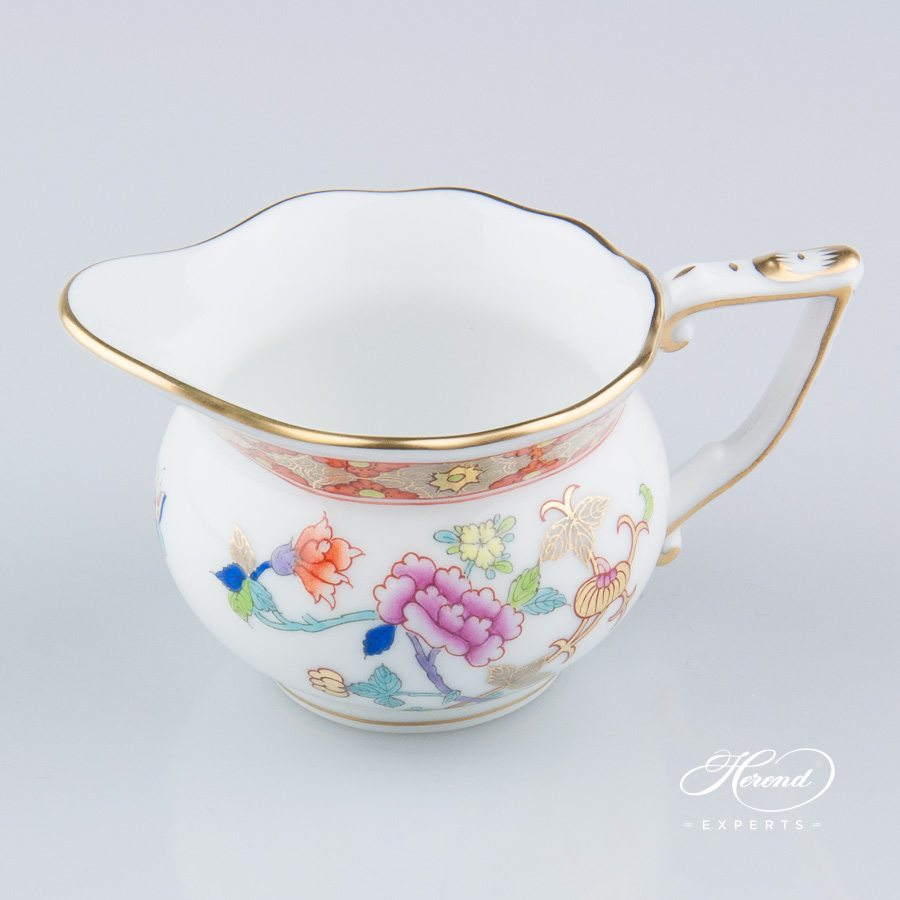 Creamer 20645-0-00 SH Shanghai pattern. Herend fine china hand painted. Classical Oriental design