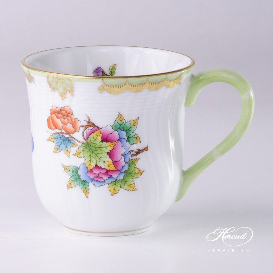 Universal Cup 1729-0-00 VBO Queen Victoria Multicolor pattern - Herend porcelain hand painted