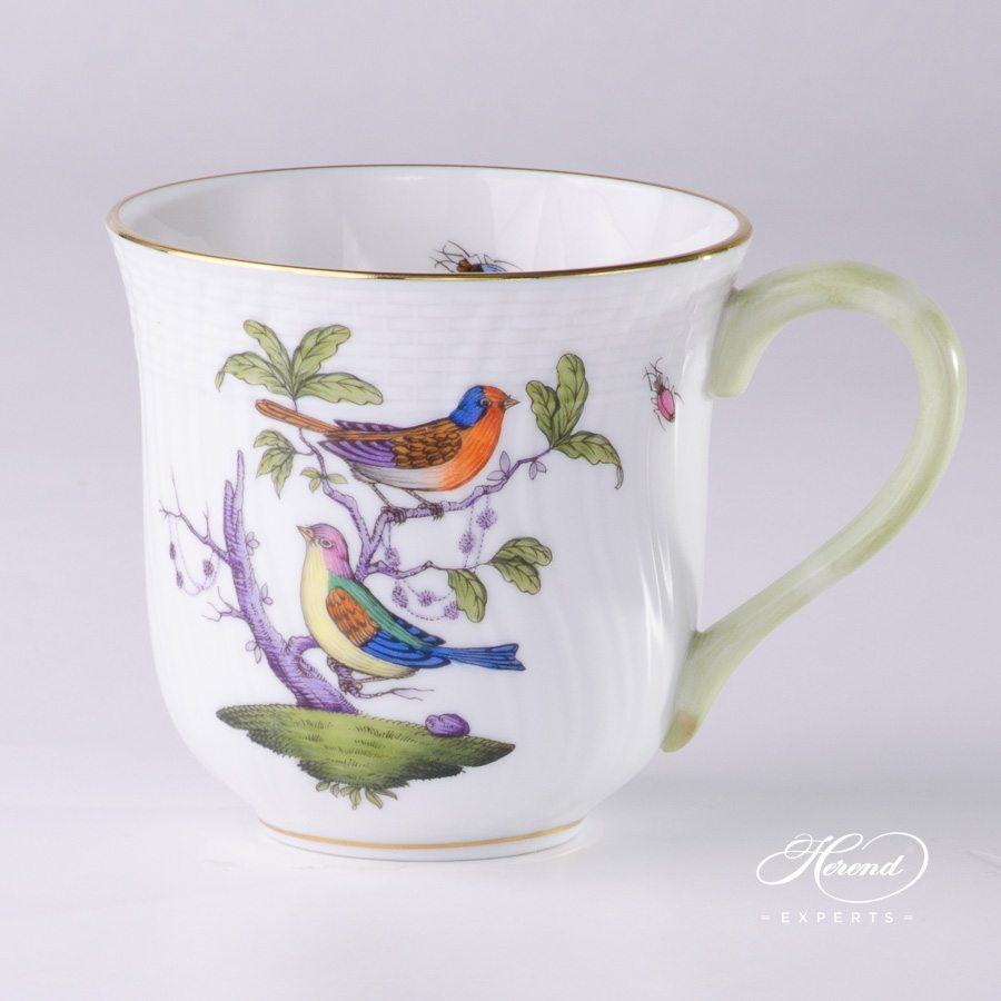 Universal Cup 1729-0-00 ROM Rothschild Multicolor pattern - Herend porcelain hand painted