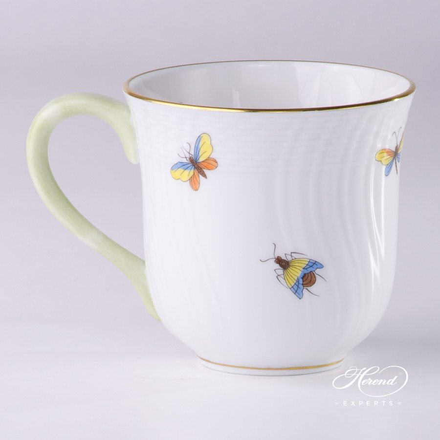 Universal Cup1729-0-00 ROM Rothschild Multicolor pattern - Herend porcelain hand painted