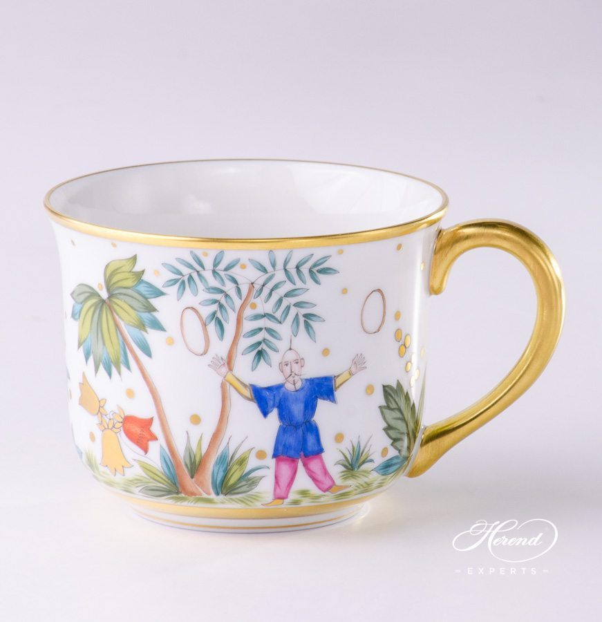 Small Universal Cup 2708-0-00 FODO Oriental Showmen pattern - Herend porcelain hand painted
