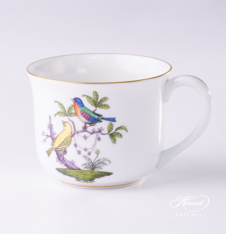 Small Universal Cup 2708-0-00 ROM Rothschild Bird pattern - Herend porcelain hand painted