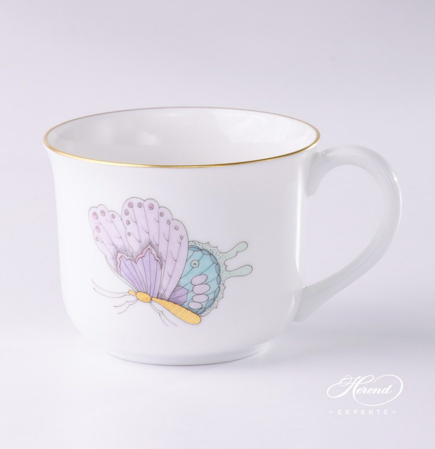 Small Universal Cup 2708-0-00 EVICTP2 Royal Garden Turquoise pattern - Herend porcelain hand painted