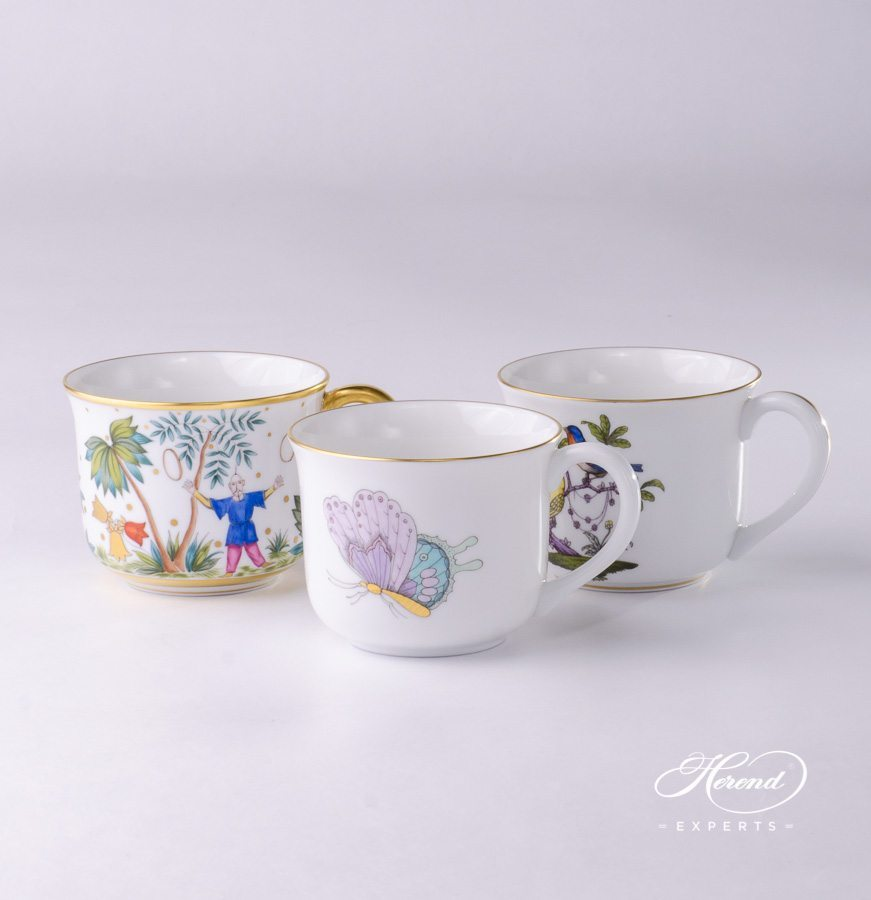 Small Universal Cups or Breakfast Cups - Herend Porcelain