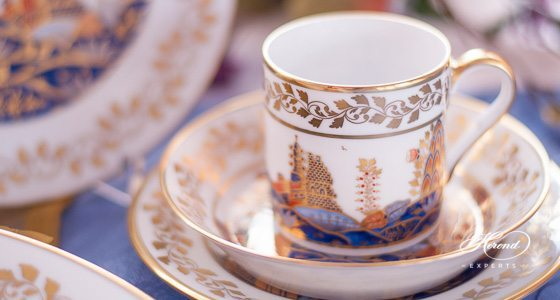 Miramare MR pattern - Herend fine china hand painted.