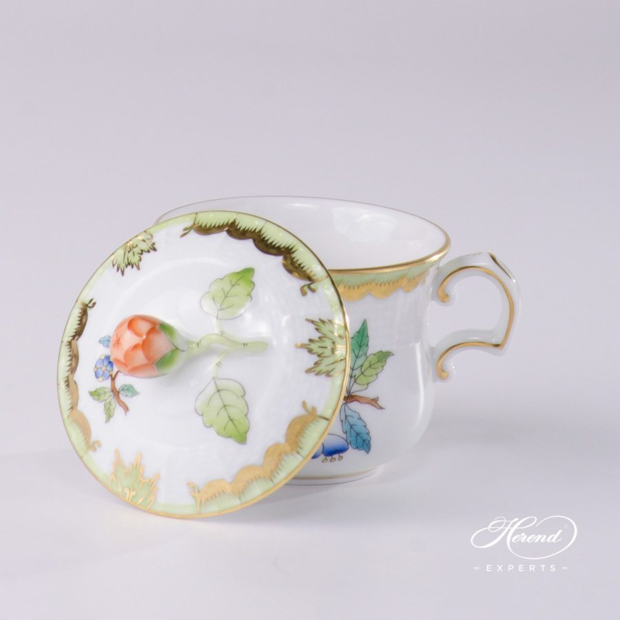 Cream Cup Queen Victoria VBA pattern - Herend porcelain.