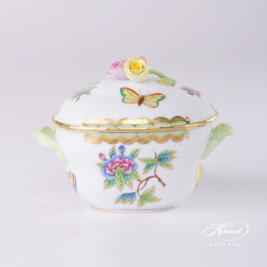 Sugar Basin Queen Victoria VBO pattern - Herend porcelain.