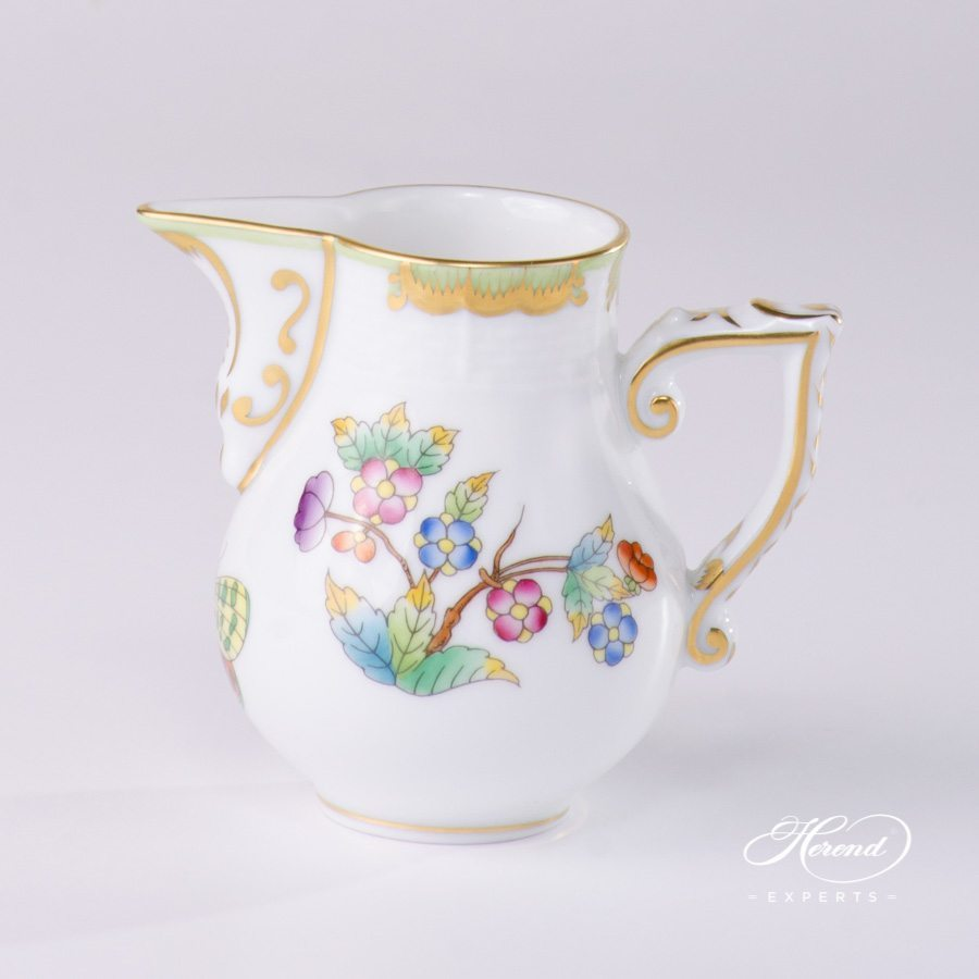 Milk Jug Queen Victoria VBO pattern - Herend porcelain.