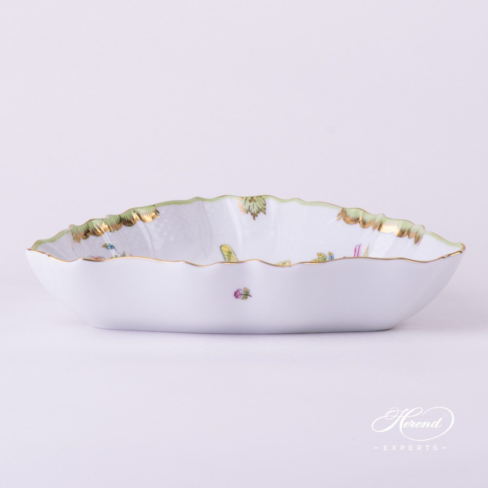 Salad Dish Queen Victoria VBO pattern - Herend porcelain.