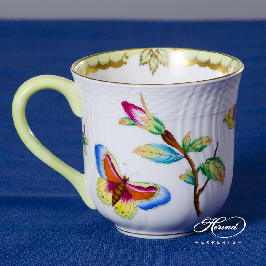 Universal / Breakfast Cup 1729-0-00 VICTORIA - Old Queen VICTORIA decor. Herend porcelain hand painted