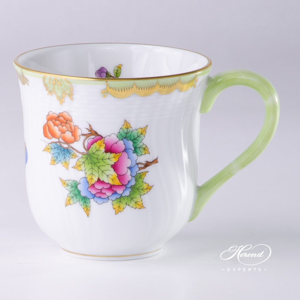 Universal Cup / Milk Mug1729-0-00 VBO Queen Victoria pattern. Herend fine china hand painted