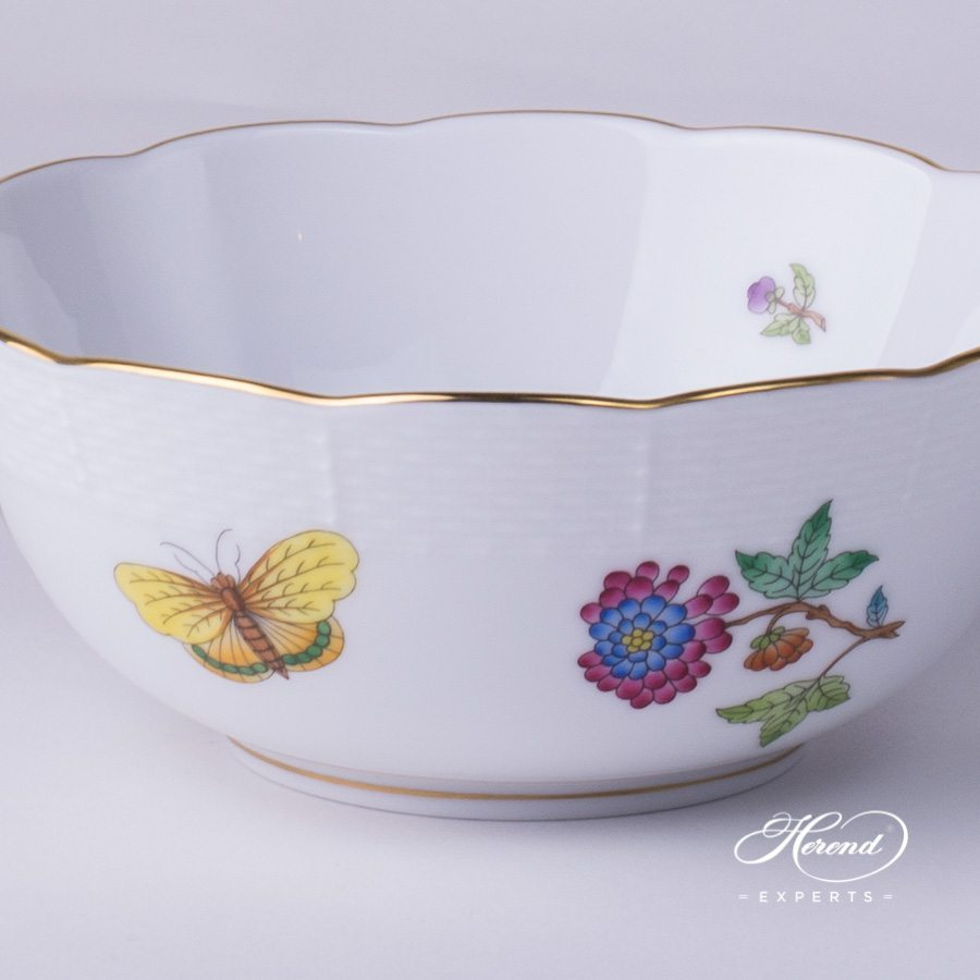 Bowl 365-0-00 VA Queen Victoria pattern - Herend fine china.