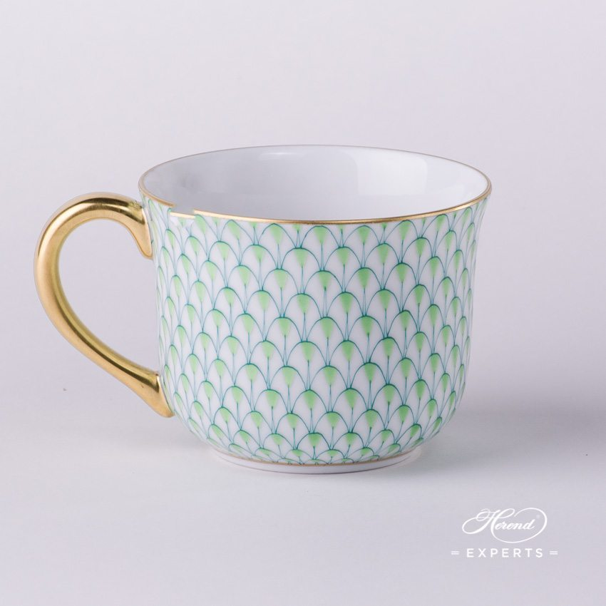 Small Universal Cup 2708-0-00 VHV2 Light Green pattern - Herend porcelain hand painted