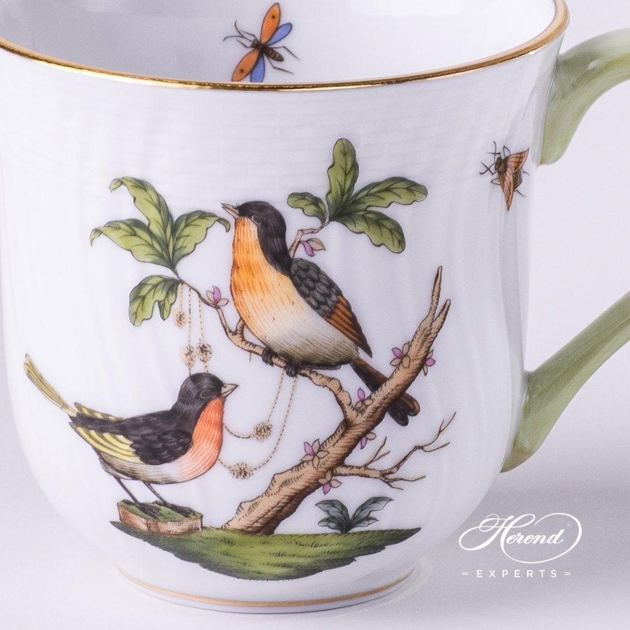 Universal Cup 1729-0-00 RO Rothschild pattern - Herend porcelain hand painted