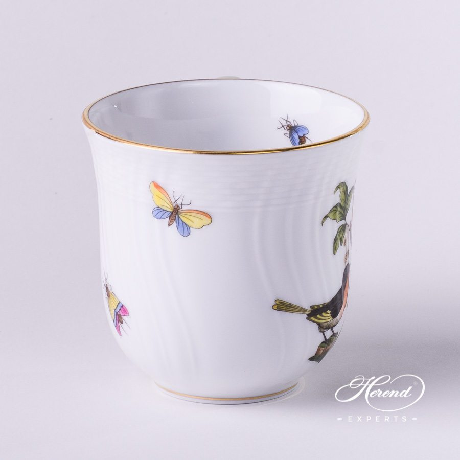 Universal Cup 1729-0-00 RO Rothschild Bird pattern. Herend fine china. Handmade and handprinted