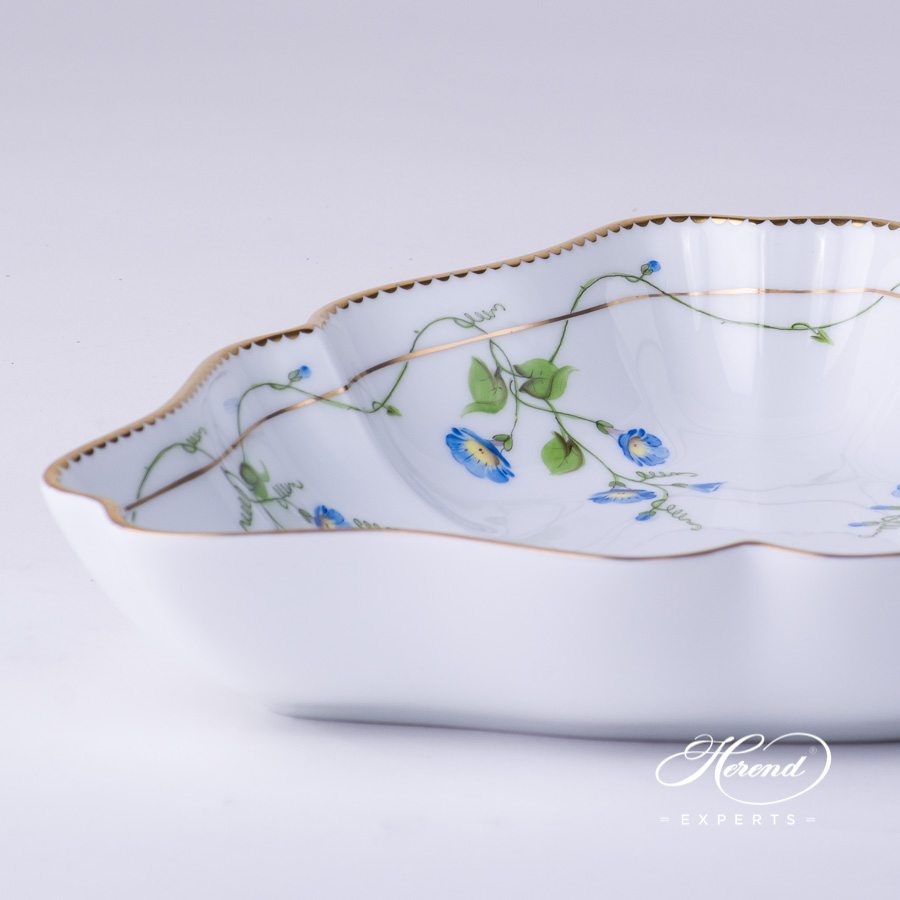 Salad Dish 20191-0-00 NY Nyon - Morning Glory pattern - Herend fine china.