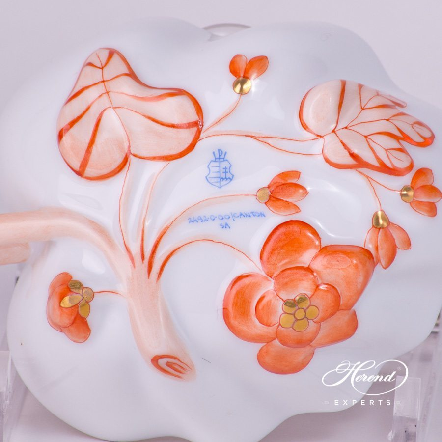 Sugar Bowl 2492-0-00 Canton design. Herend fine china tableware. Classical Oriental design. Hand painted