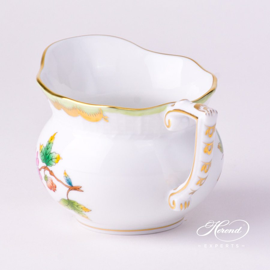Creamer643-0-00 VBO Queen Victoria decor. Herend porcelain tableware. Hand painted