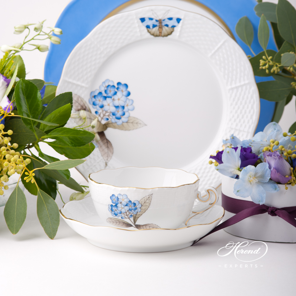 Place Setting 4 Piece - Herend Victoria Grand VICTMC9 design. Herend fine china