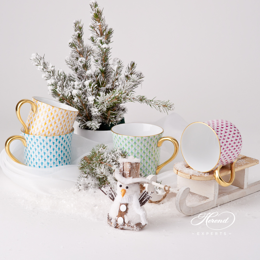 Universal Cups/ Breakfast Cups - Herend Fine china items