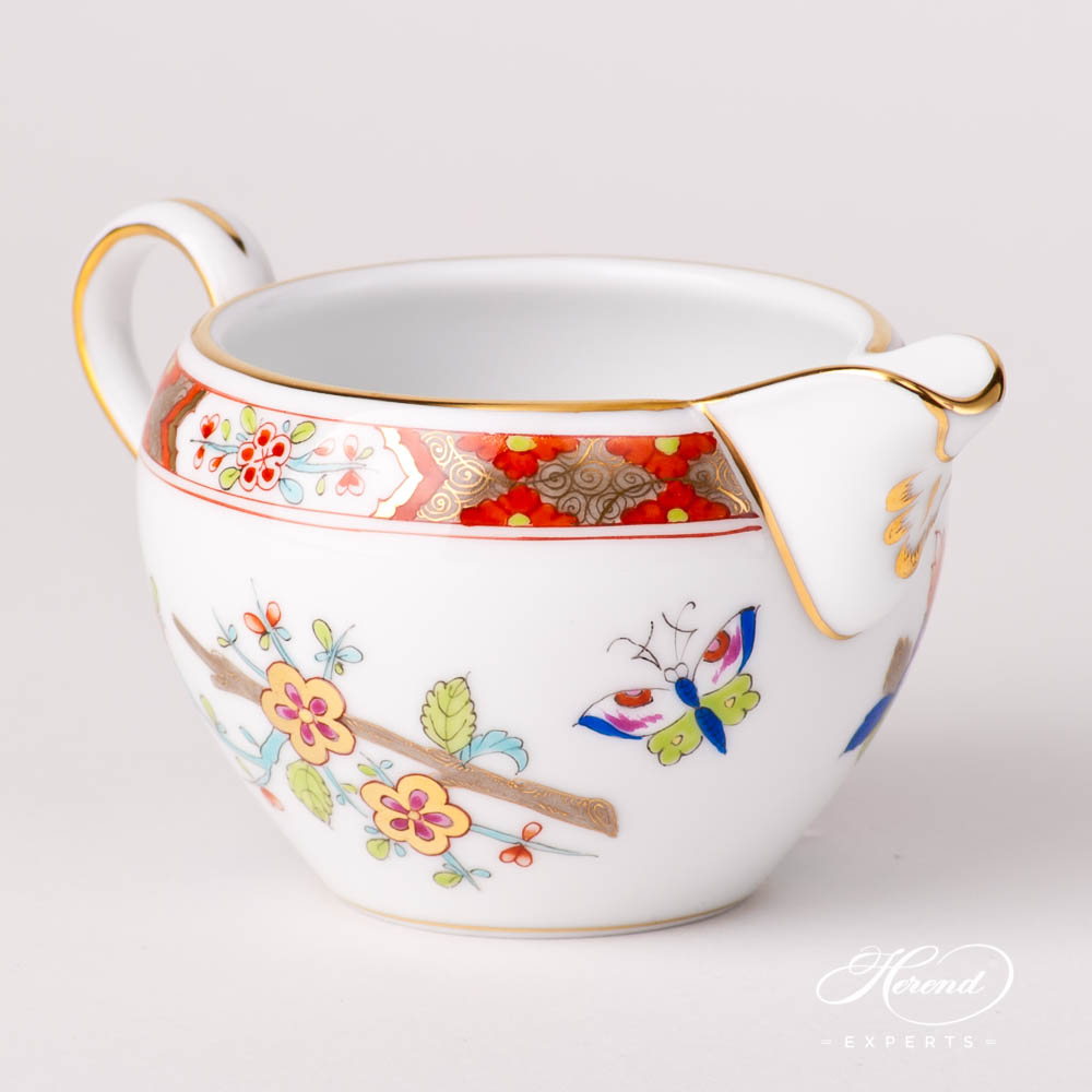 Creamer / Milk Jug 2648-0-00 SH Shanghai pattern. Herend fine china hand painted. Classical Oriental design