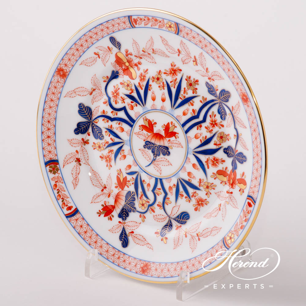 Dessert Plate2518-0-00 Canton design. Herend fine china tableware. Hand painted