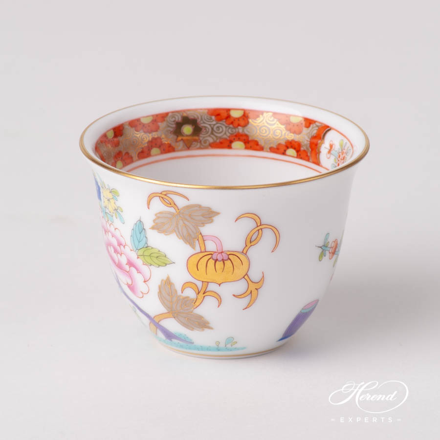 Coffee Cup / Arabic Finjan 3168-0-00 SH Shanghai pattern. Herend fine china hand painted. Classical and Oriental style tableware