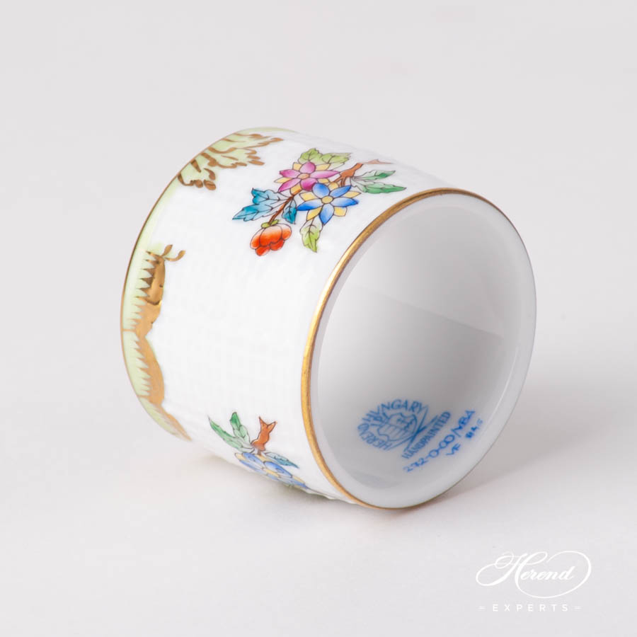 Napkin Ring 272-0-00 VBA Queen Victoria design. Herend fine china