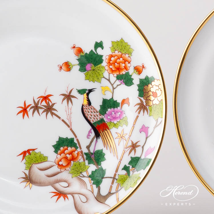 Dessert Plate 6547-0-00 GRUE design. Herend fine china