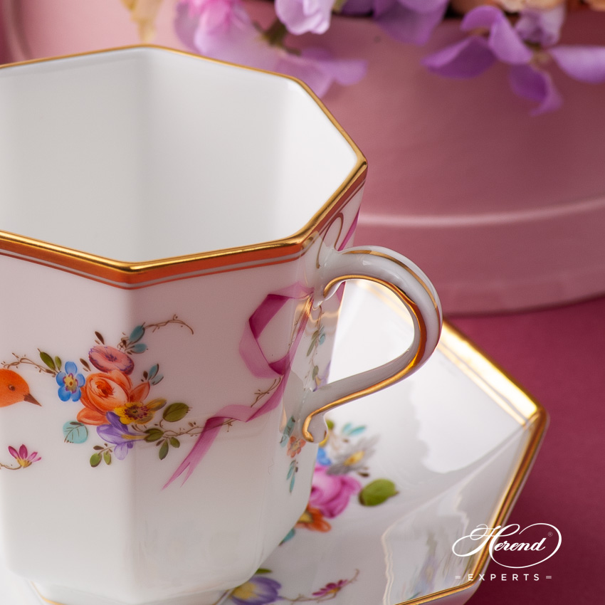 Coffee Set for 2 Person - Herend Mediterranean Garden JM pattern. Herend fine china