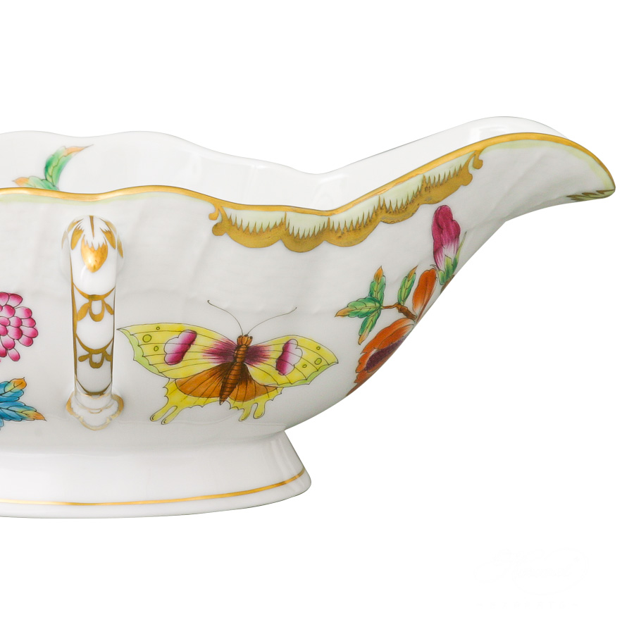 Gravy Boat1220-0-00 Old Queen VICTORIAdesign. Herend fine china
