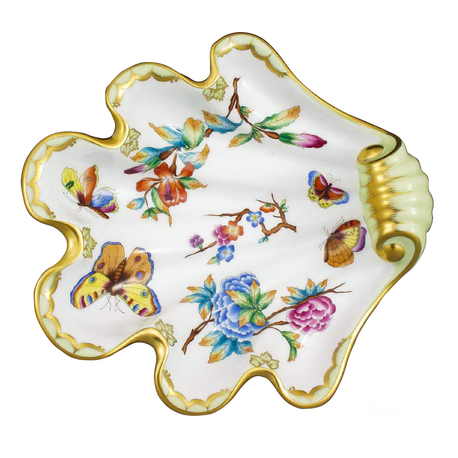 Shell / Fancy Dish7521-0-00 Old Queen VICTORIAdesign. Herend fine china